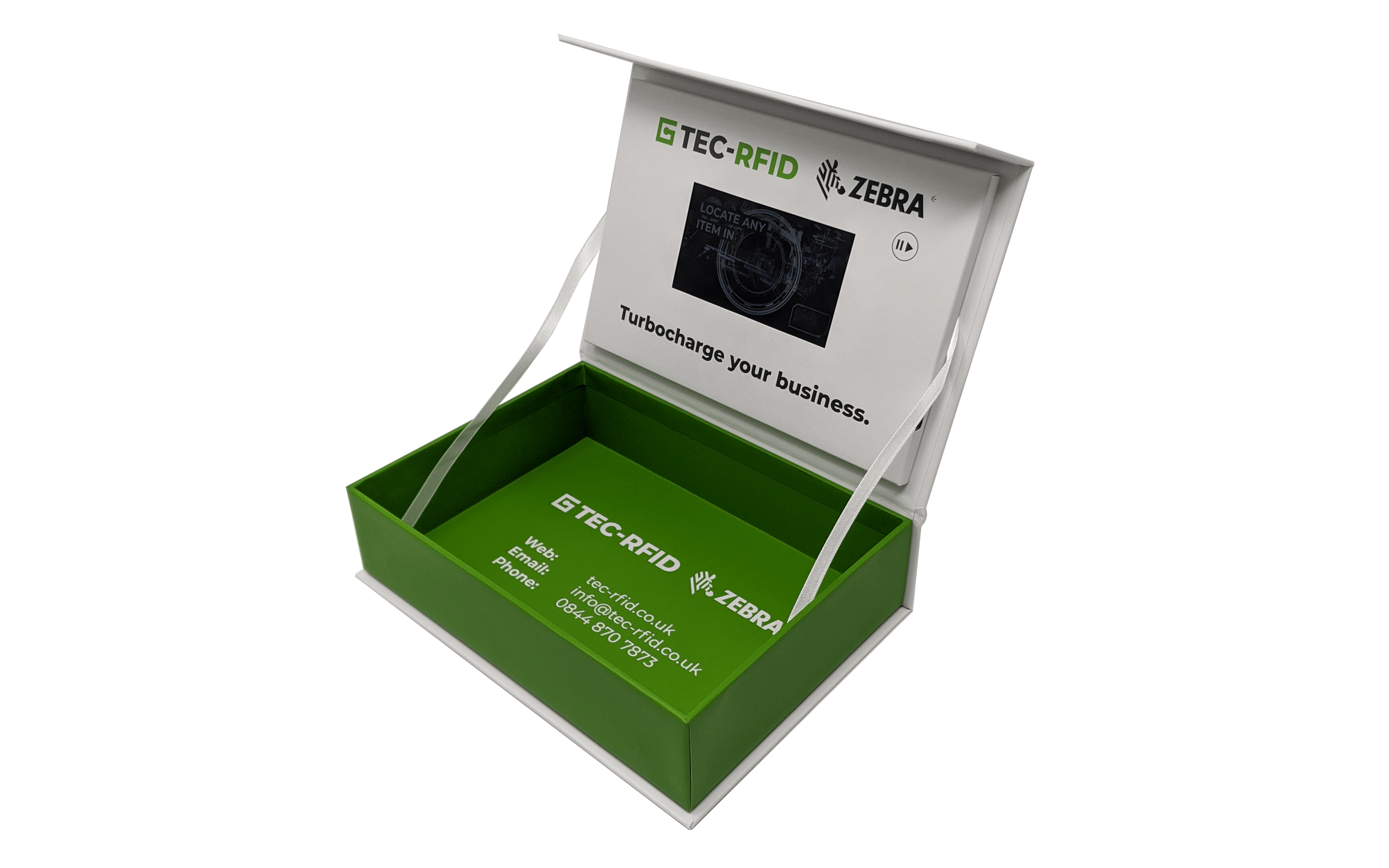 A5 video box with 5 inch screen.